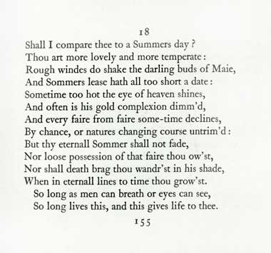 comparison of shall i compare thee and Shall i compare thee to although the lines were incomplete, they kept ending on a question mark and who, in india, would compare someone to a summer's day - except to insult the addressee and so the summer's day was transient in comparison to the poet's beloved, who'd continue to.
